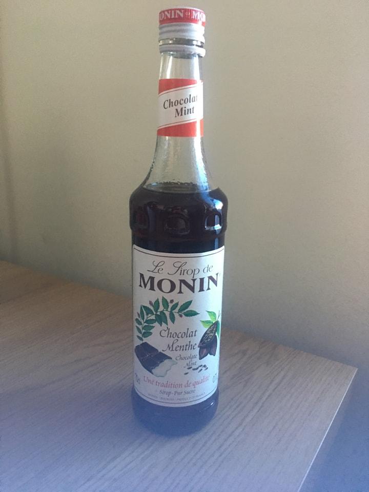 Monin Syrup Mint Chocolate