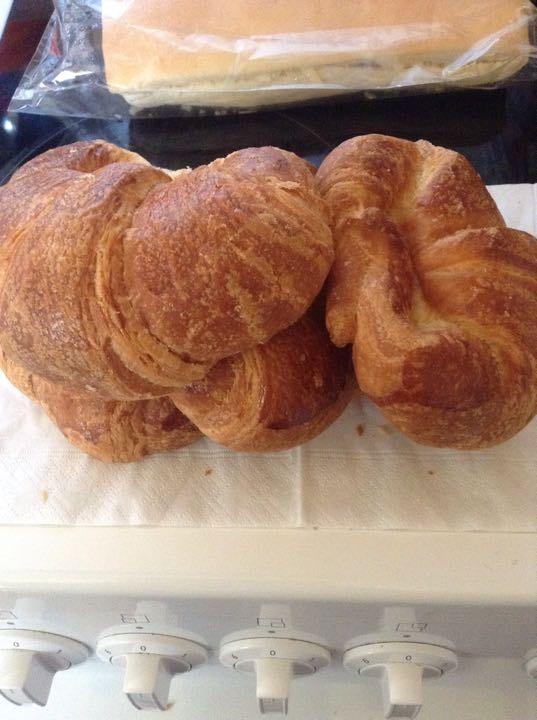 4 X croissants