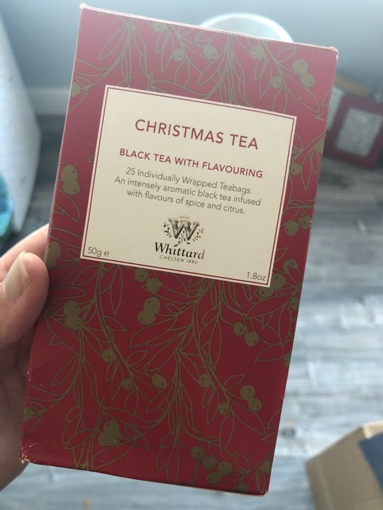 Whittled Christmas Tea