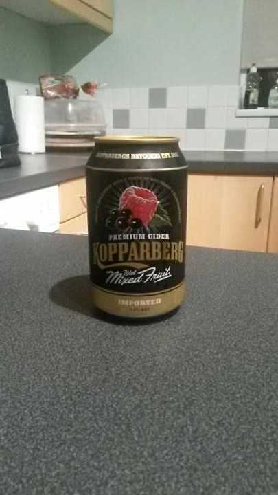 Kopparberg with mixed fruit