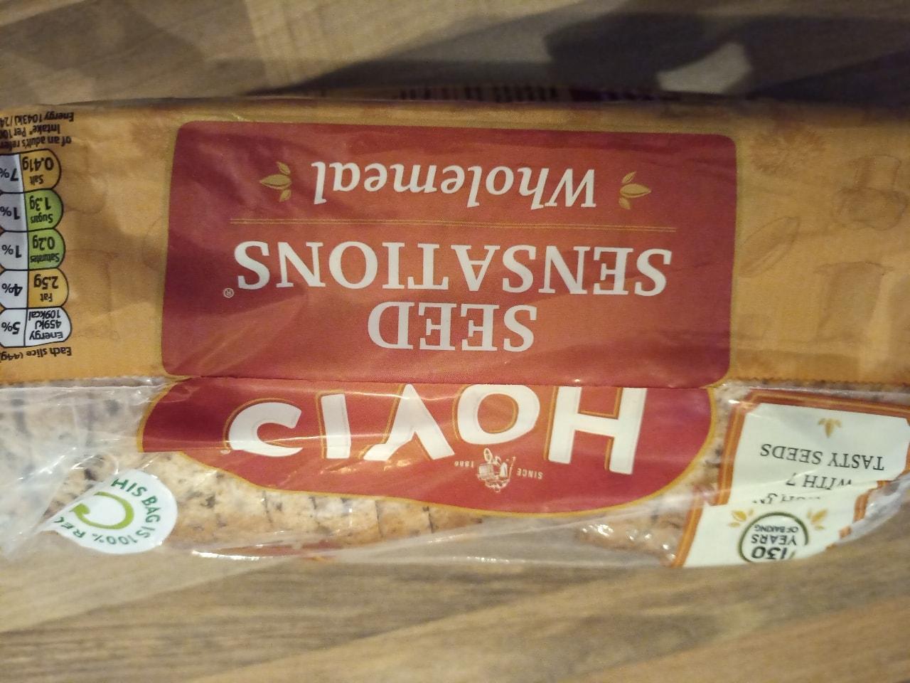 Hovis seed sensation sliced loaf 800g
