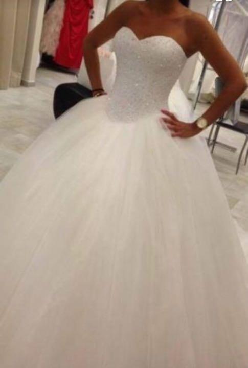 Most beautiful wedding dress.