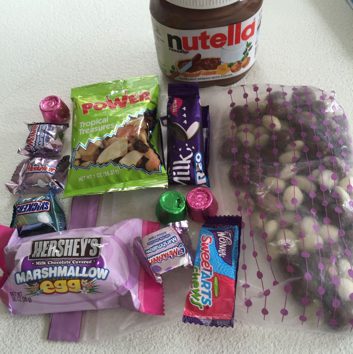 Misc sweets and chocolate