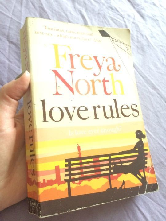 Book Freya North 'Love Ruls'