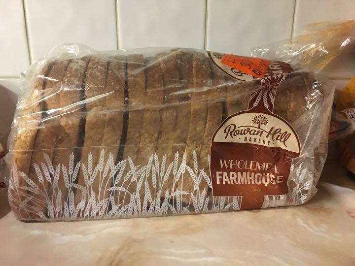 Rowan Hill Bakery wholemeal farmhouse frozen
