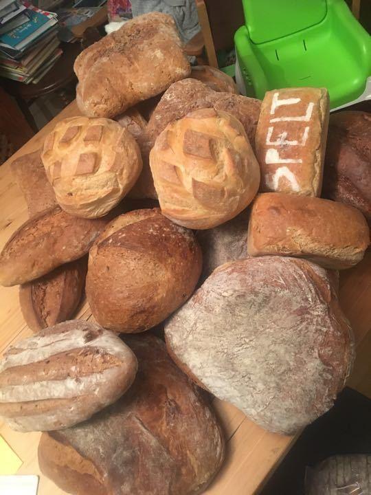 Bread, bread and more bread!
