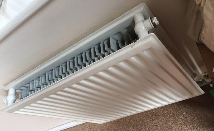 Double radiator 600 x 600