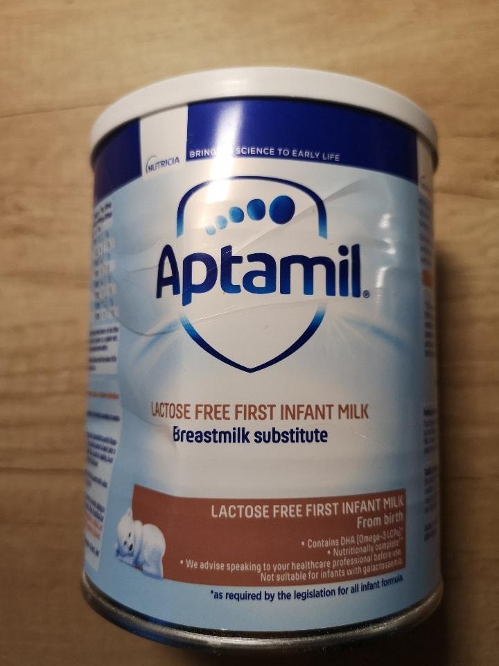 Aptamil - lactose free first infant milk 400g