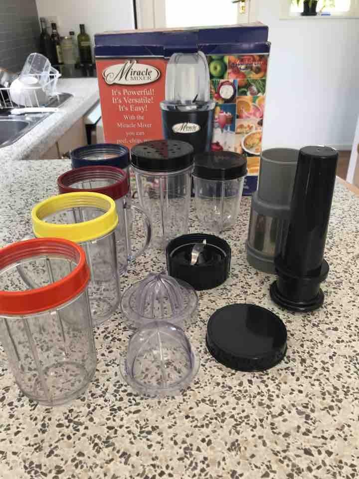 Koolatron Miracle Mixer accessories