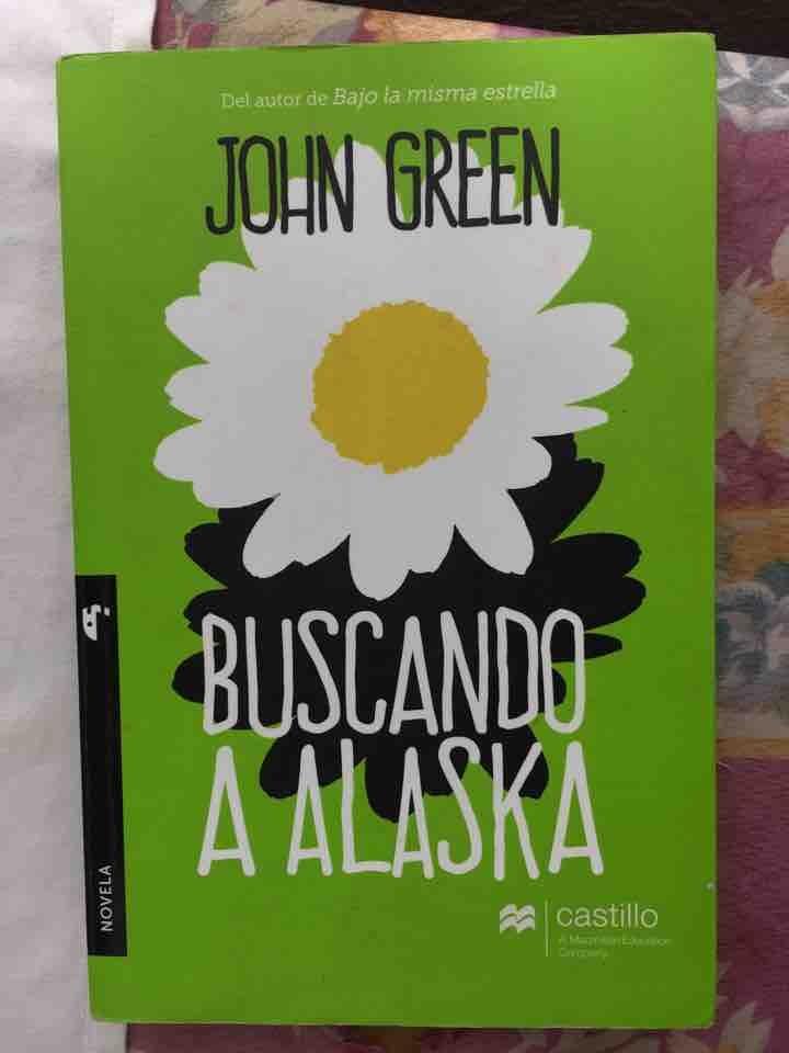 Libro Buscando a Alaska (John Green)
