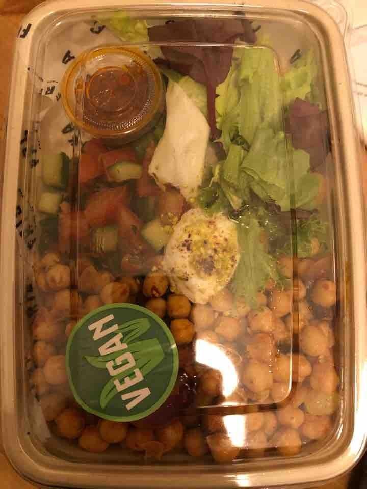 Vegan friska salad