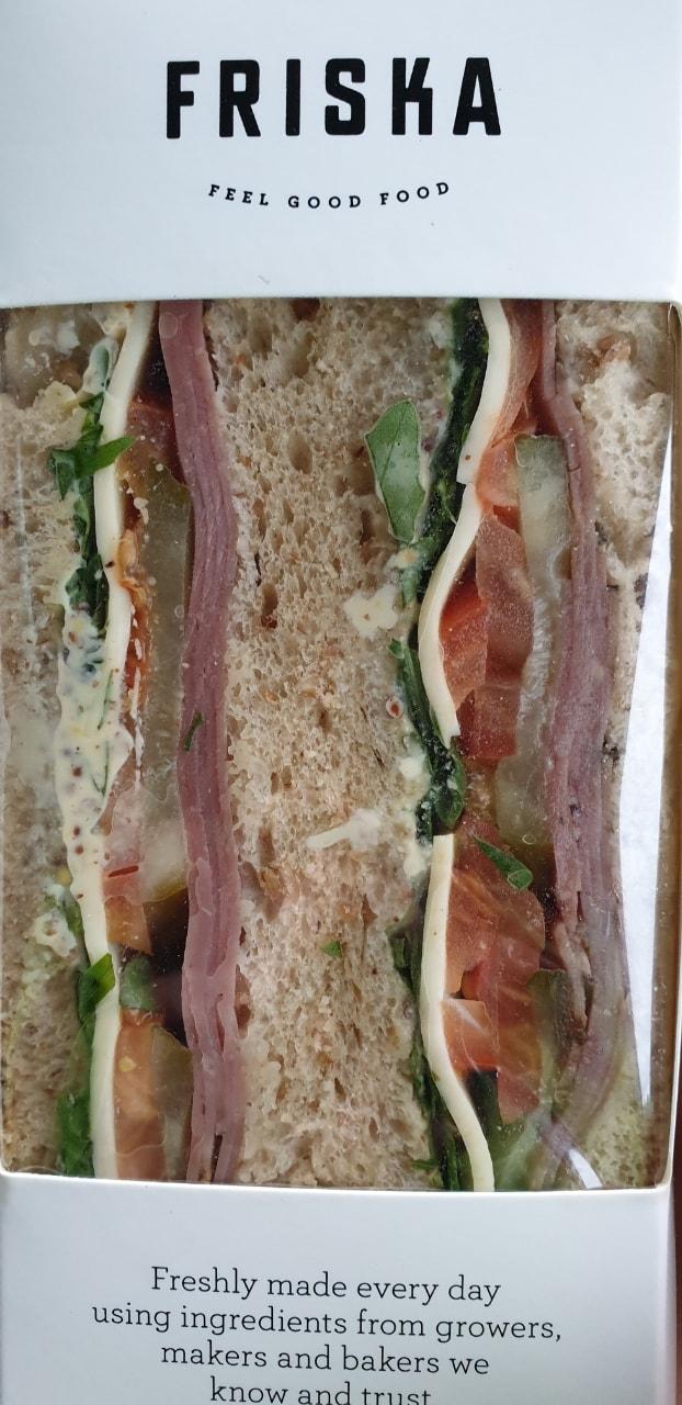 Friska meat sandwich