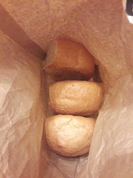 Bakery crusty rolls