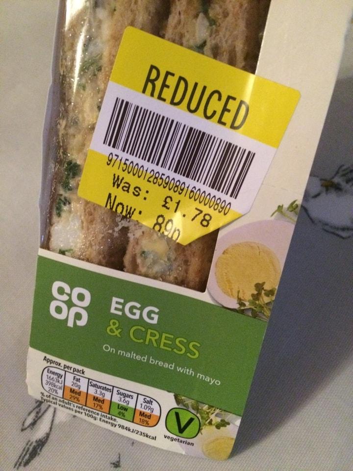 Egg and cress