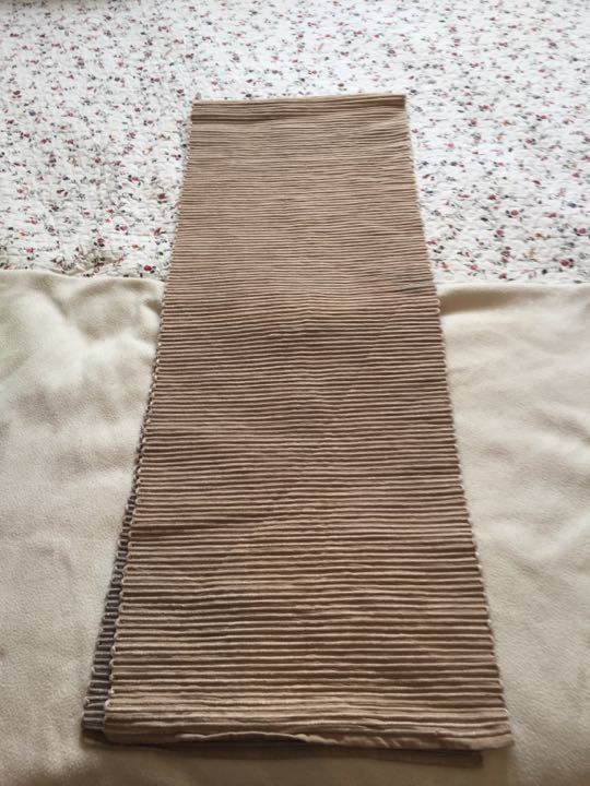 John Lewis Ribbed Table Runner 7' (Folded in half in photo)