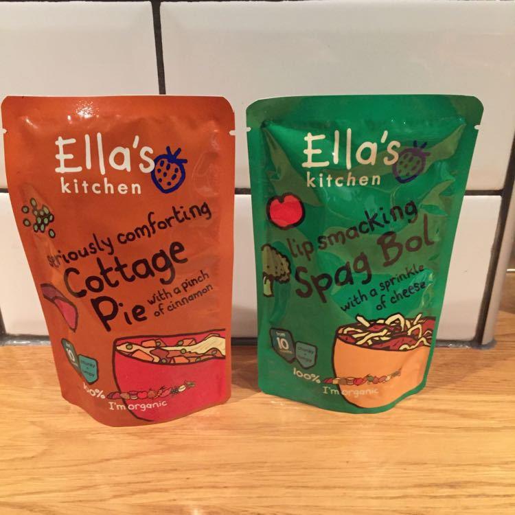 Ella's Kitchen 10m+ meal pouch x2
