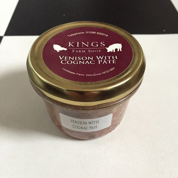 Venison with Cognac Pate - Kings Farm Shop