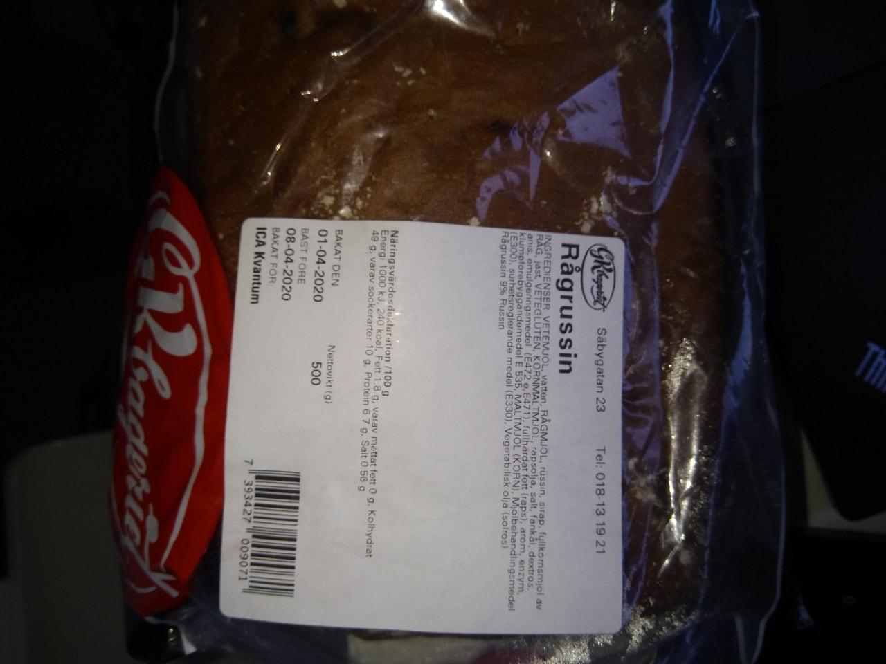 Rasin bread