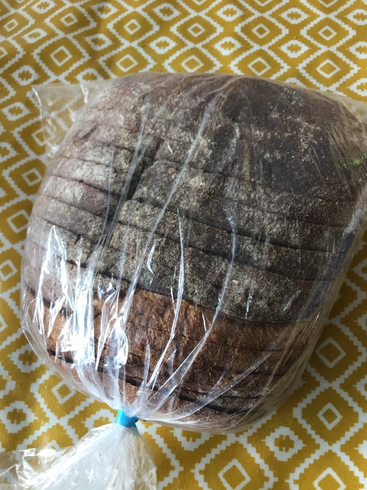 Bag 2: large loaf from artisan bakery