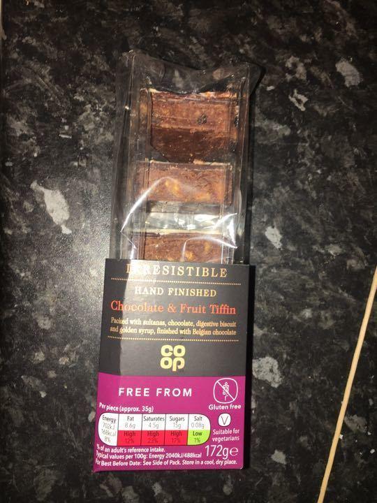 Chocolate fruit tiffin