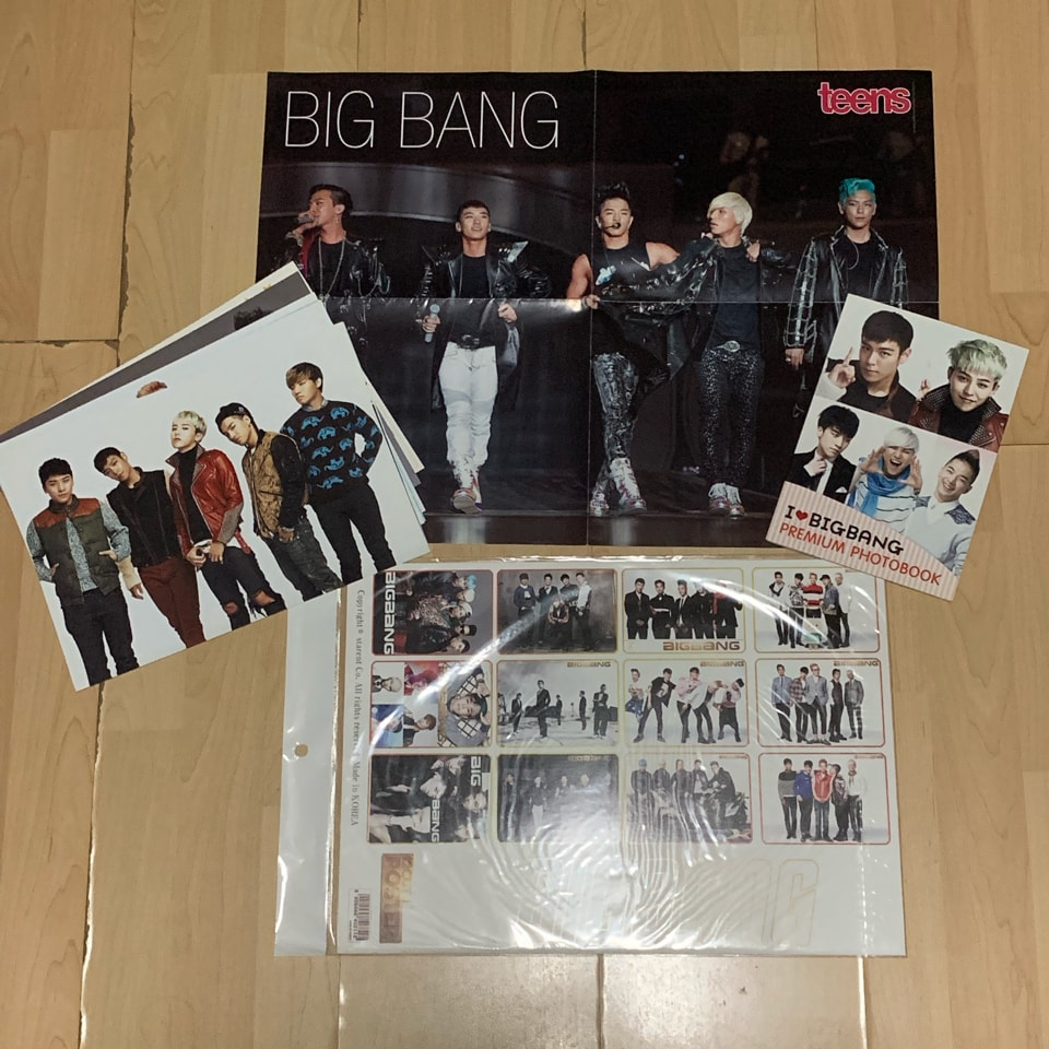 Bigbang posters
