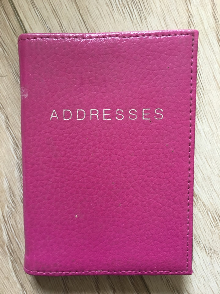 Small addresses notebook📖