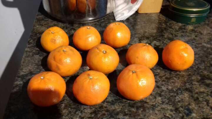 Small oranges
