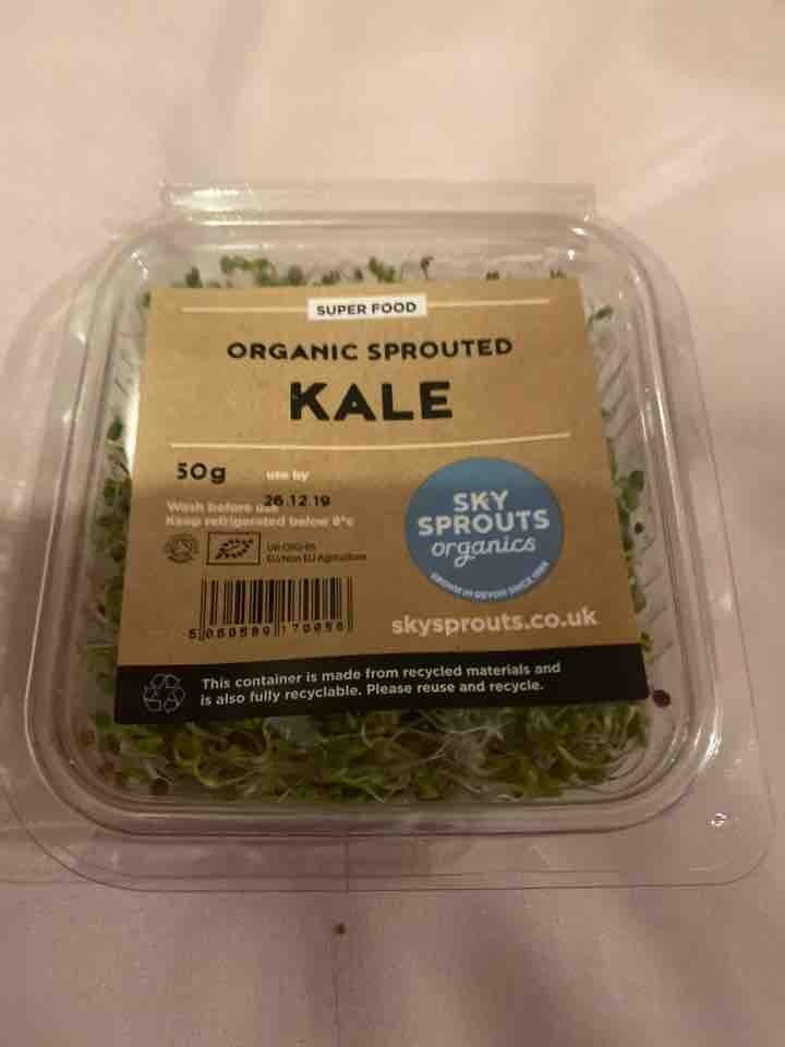Planet organic sprouted kale