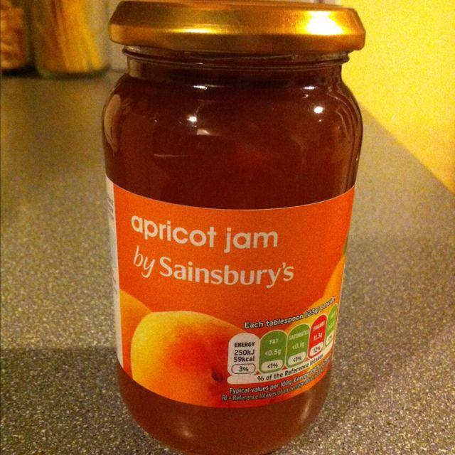 Sainsburys apricot jam