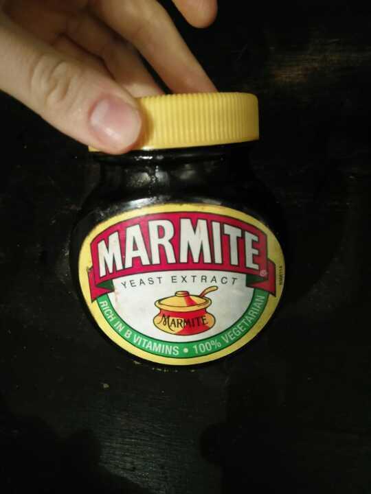 Opened marmite
