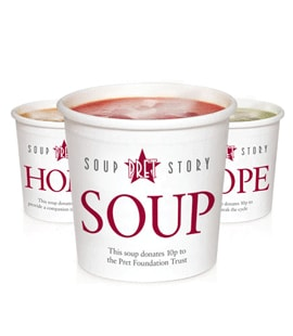 PRET - Christmas Turkey & Ham soup