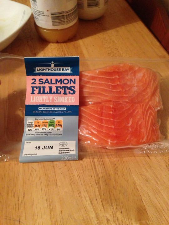 2 salmon fillets for free