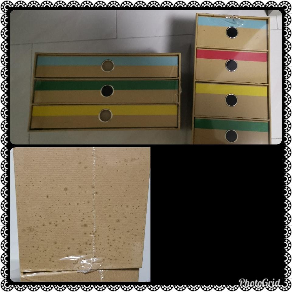 Ikea boxes 2 pcs
