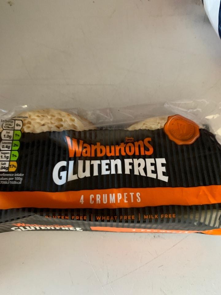 Warnurtons GF crumpets