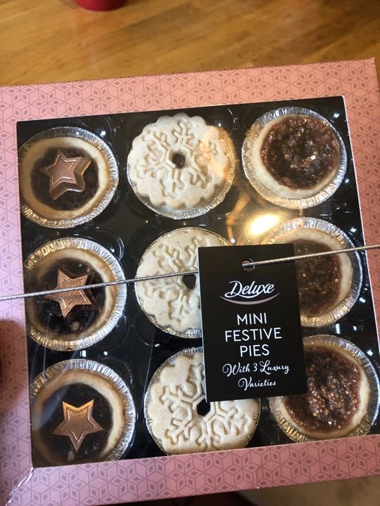 Festive mince pies from Lidl!