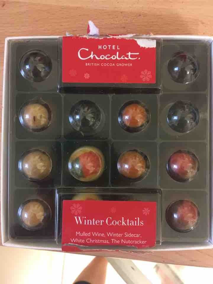 10 Winter Cocktails chocolates