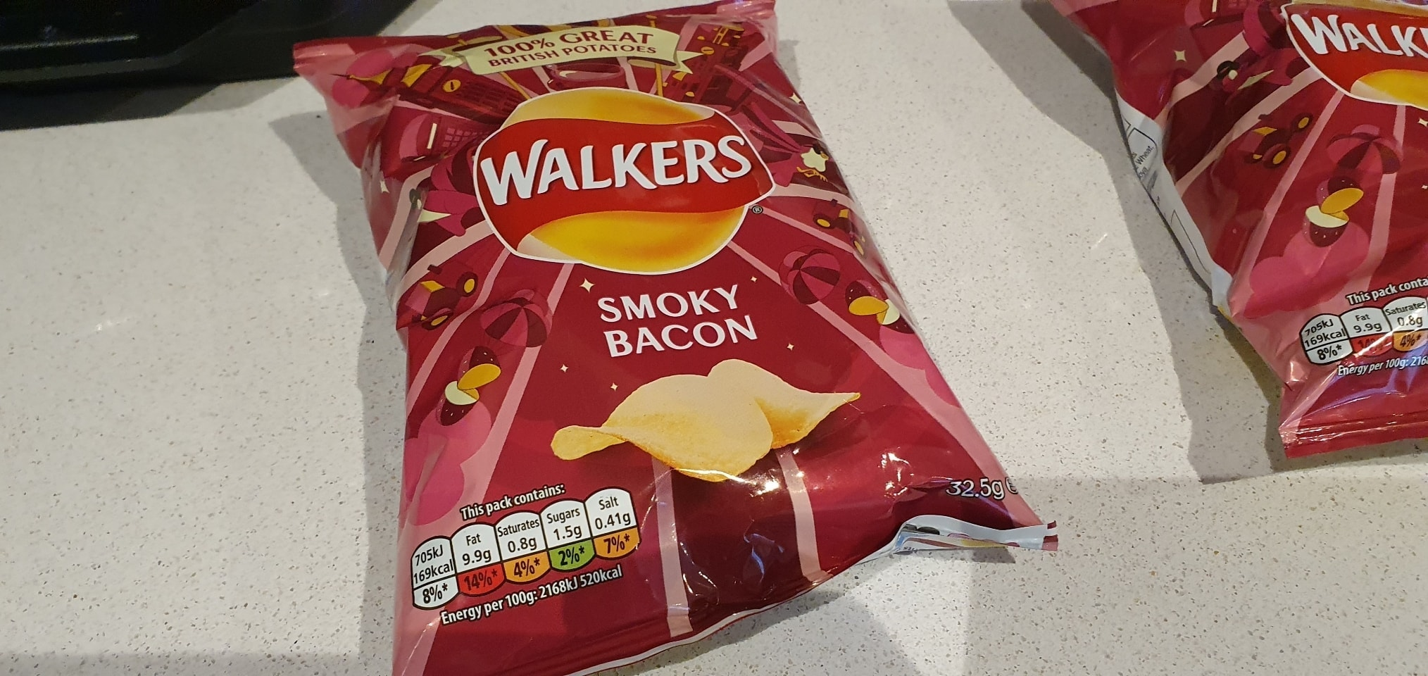 Pack if Smoky Bacon Crisps