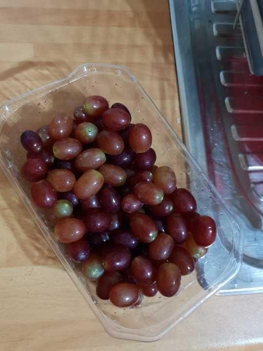 Grapes kindly donated by Sharing Sherwood