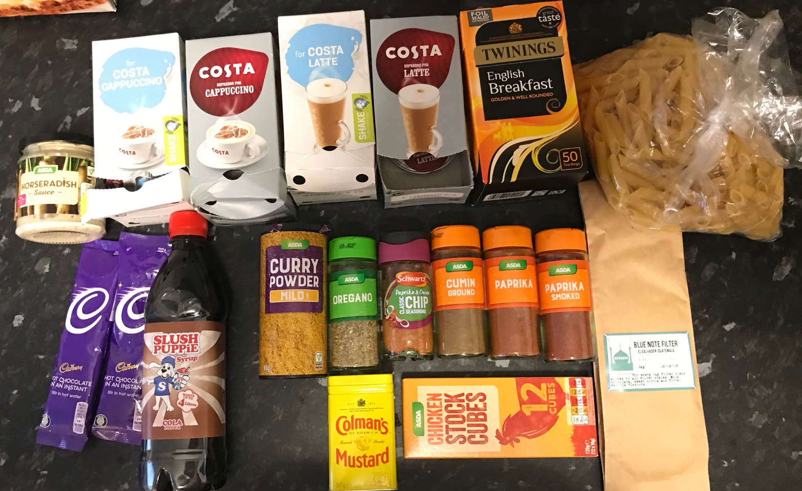 Cupboard bits