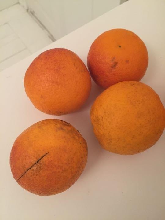 Blood oranges