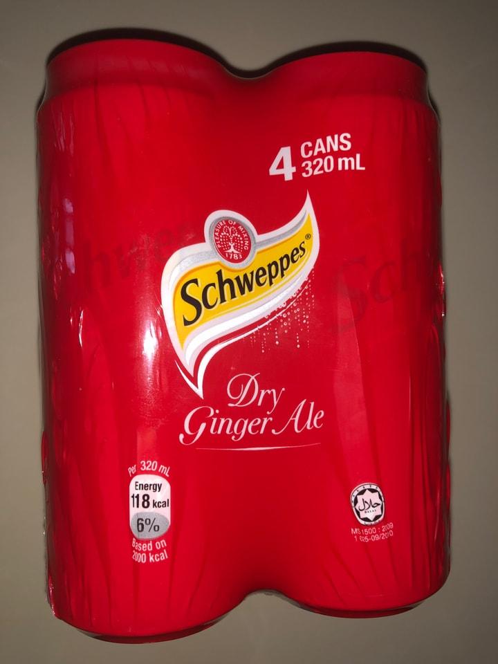 Schwepps Ginger ale