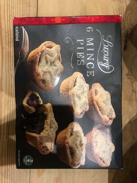 6 luxury mince pies (Iceland)