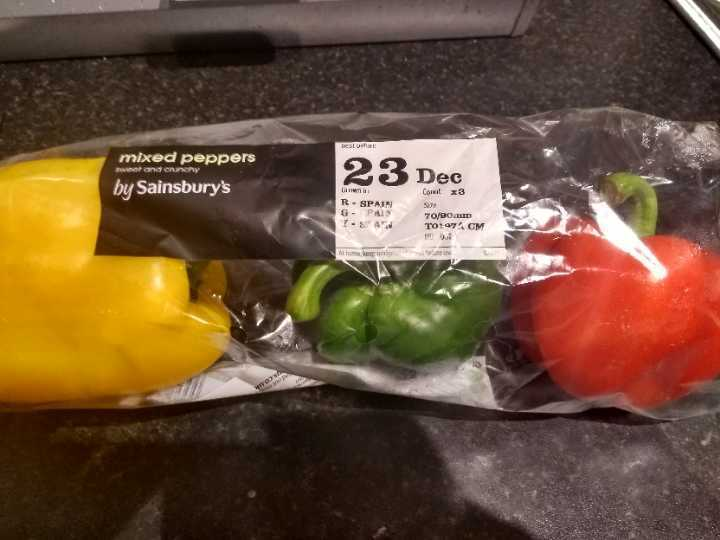 3 peppers