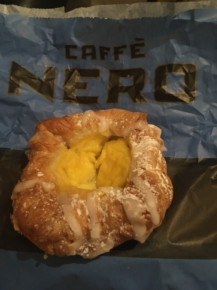 Danish pastry from CAFE NERO