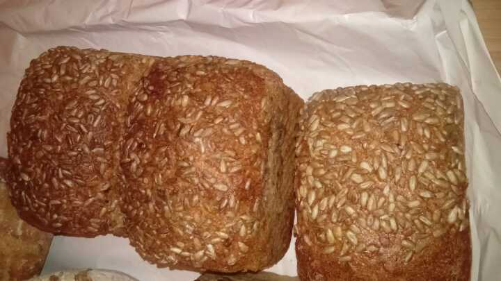 Seeded tin loaf (small)