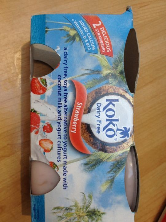 1 Koko strawberry yoghurt