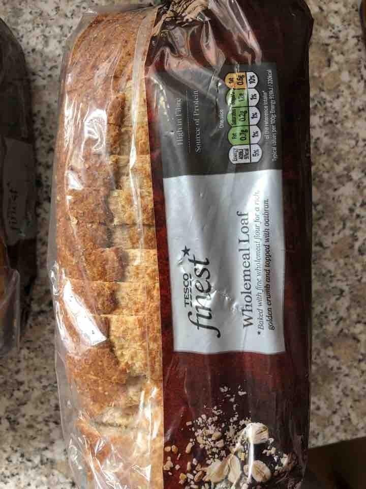 Wholemeal loaf Tesco finest