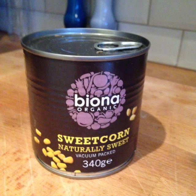 Biona sweetcorn