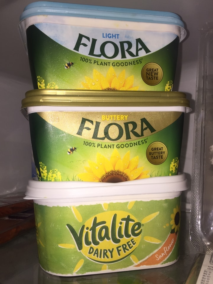 Food from The Challenge - flora/ vitalite