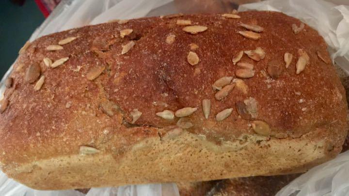 Organic sourdough rye loaves - 2 left
